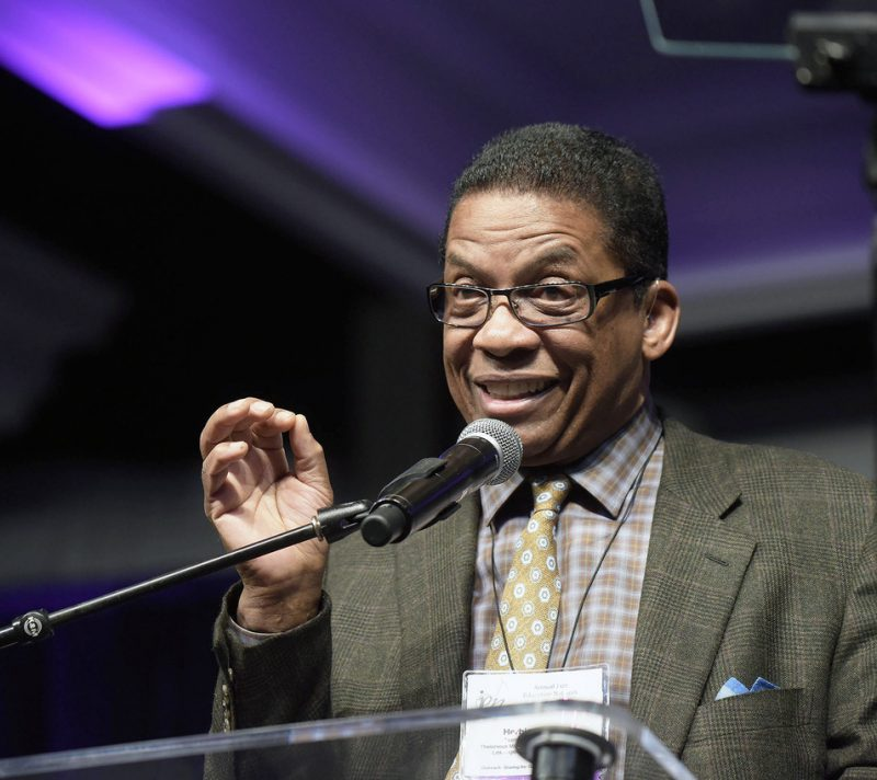 Herbie Hancock delivers keynote address at the Jazz Education Network conference, San Diego, 1-15