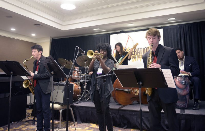 SFJAZZ High School All-Stars, Jazz Education Network conference, San Diego, 1-15
