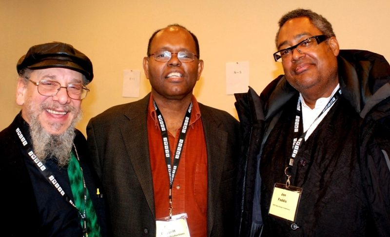 Mark Elf, Bill Doggett II and Jon Faddis at the 2015 Jazz Connect Conference