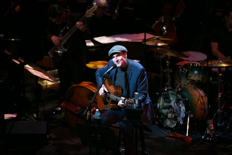 James Taylor at the Michael Brecker tribute concert, JALC, NYC, 1-15