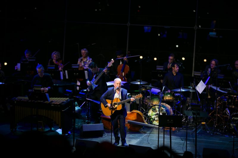 Paul Simon at the Michael Brecker tribute concert, JALC, NYC, 1-15
