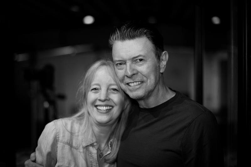 Maria Schneider and David Bowie