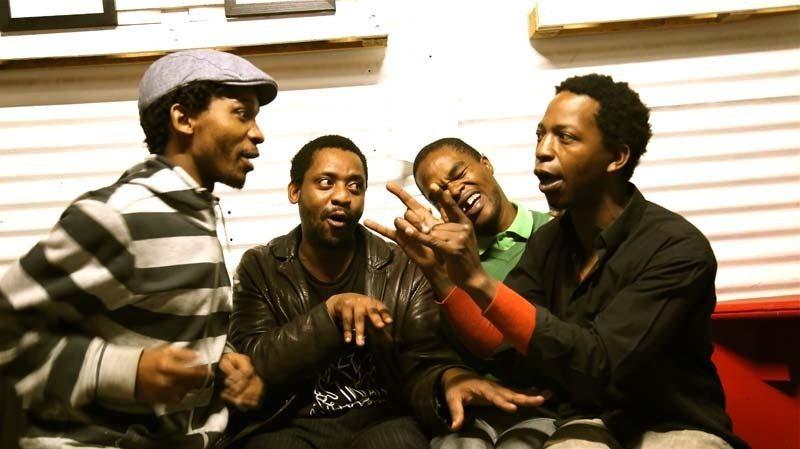 Mandla Mlangeni, Afrika Mkhize, Yonela Mnana and Malcolm Jiyane (l. to r.), Johannesburg, South Africa