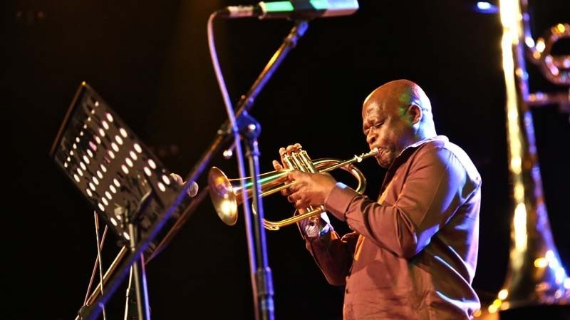 Feya Faku performs in South Africa. Faku is one of several South African musicians announced as part of this year's Jazz at Lincoln Center lineup.
