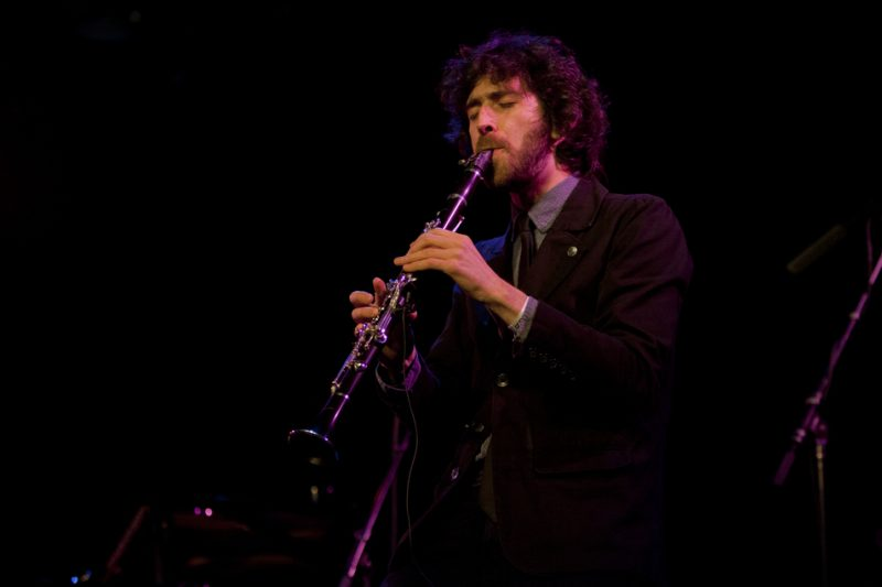 Oran Etkin performs at the Players Theatre as part of NYC Winter Jazzfest; Jan. 9, 2015