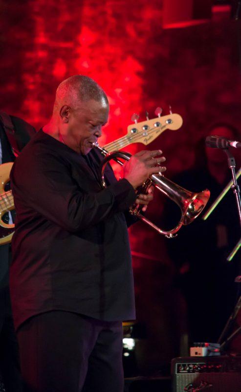 Hugh Masekela, International Jazz Day, NYC, 4-12