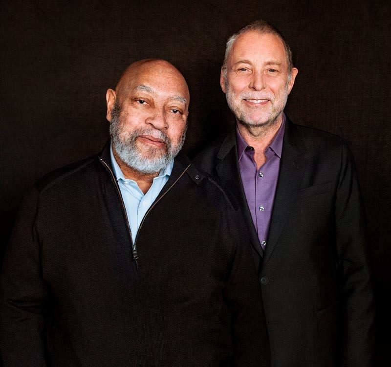 Kenny Barron (l.) with Dave Holland