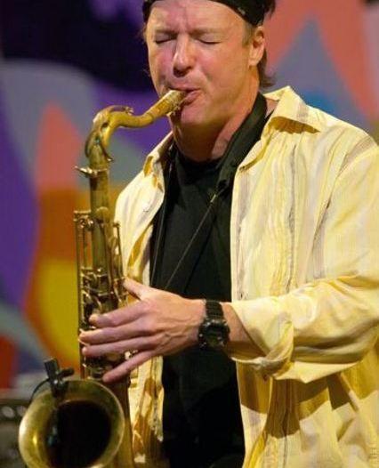 Saxophonist Bill Evans
