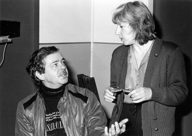 Kenny Wheeler and Norma Winstone in 1990