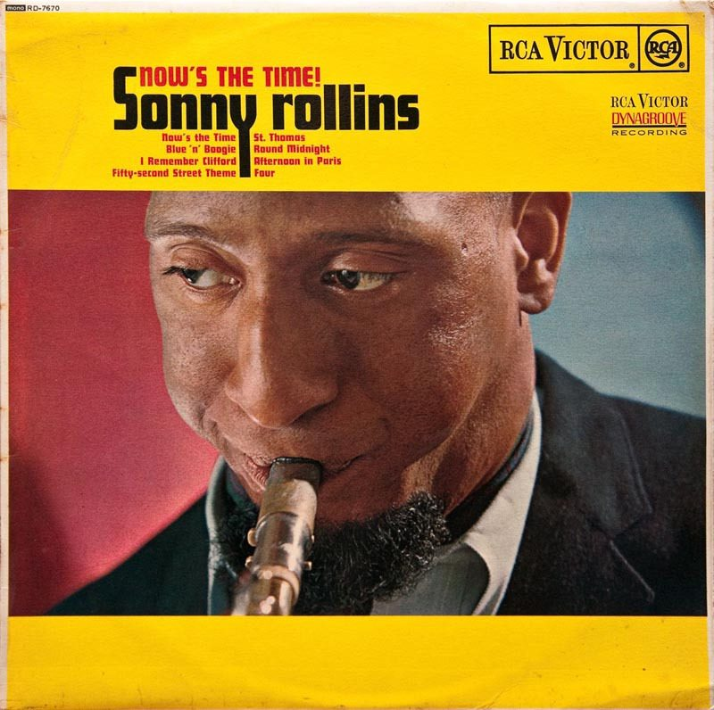 "Sonny Rollins' ""Now's the Time!"" LP"