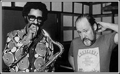 Sonny Rollins and Orrin Keepnews