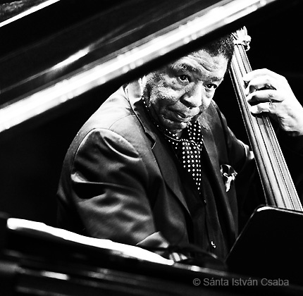 Buster Williams in New York, 2014 (photo by Santa Istvan Csaba)