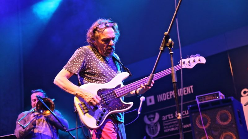 Carlo Mombelli at the 2015 Cape Town International Jazz Festival