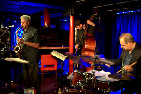 Charles McPherson with Jeremy Brown and Stephen Keogh in performance at Pizza Express in London