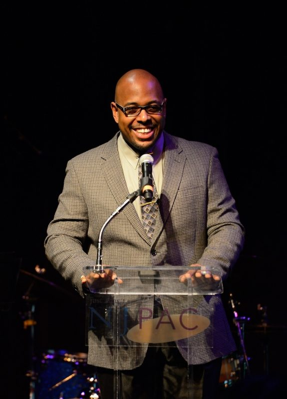 Christian McBride at NJPAC press conference, 4/13
