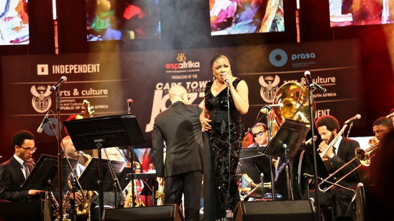 Dee Dee Bridgewater sings with Irvin Mayfield's New Orleans Jazz Orchestra, Cape Town International Jazz Festival 2015