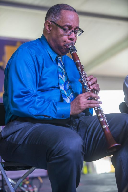 Dr. Michael White, New Orleans Jazz & Heritage Festival, April 2015