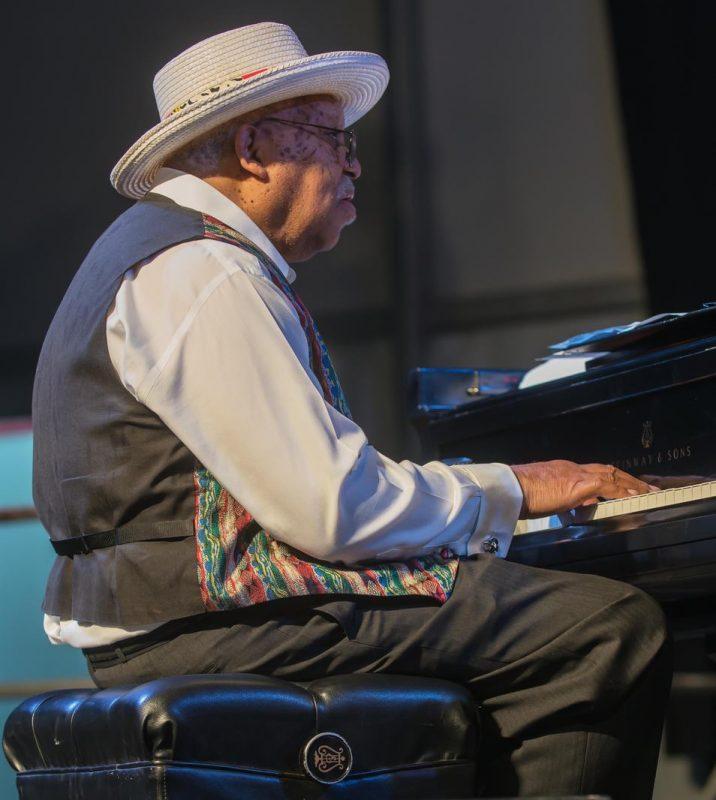 Ellis Marsalis, New Orleans Jazz & Heritage Festival, April 2015