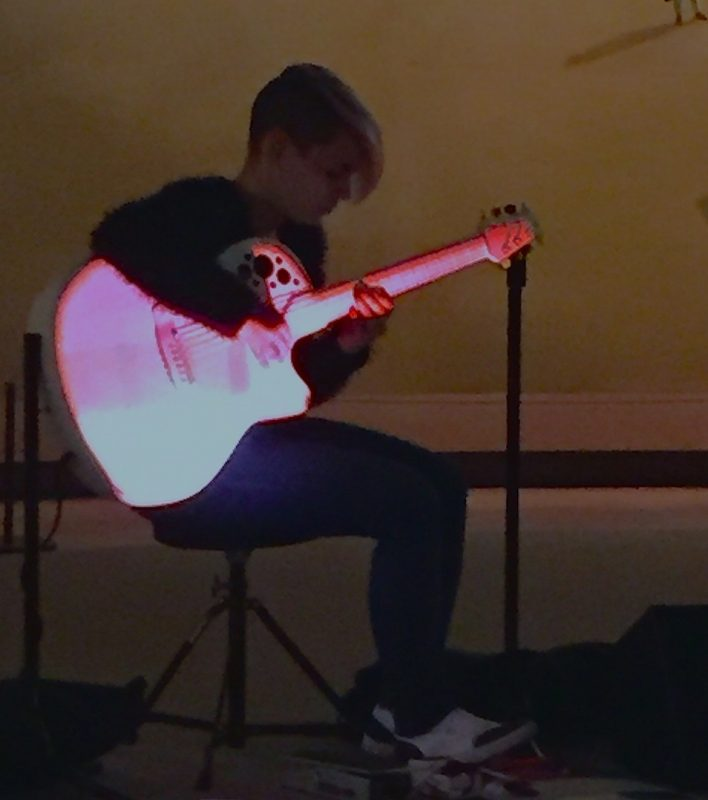 Kaki King, Jazz & Colors, Metropolitan Museum of Art, NYC 4-24-15