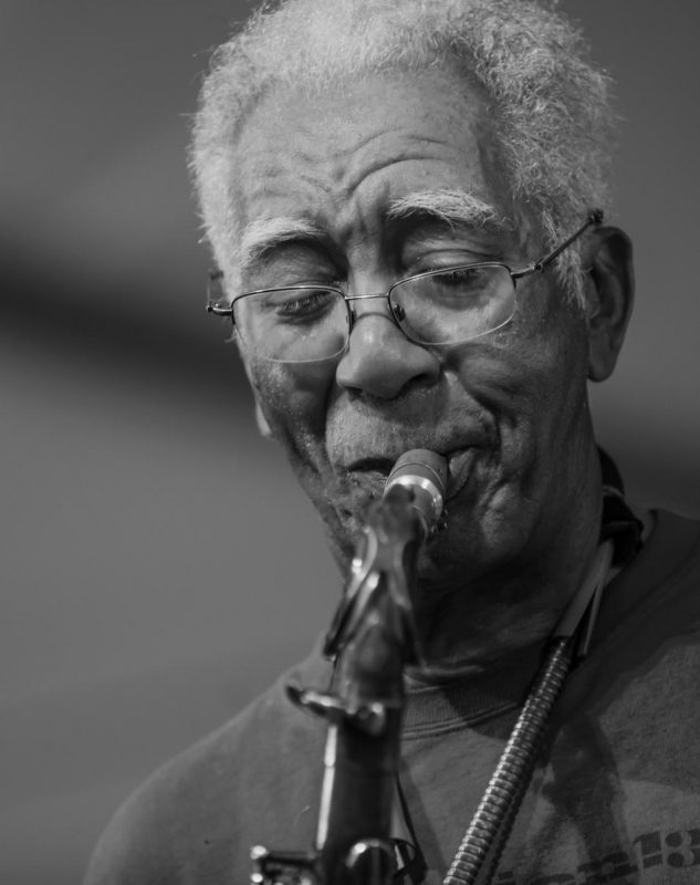 Kidd Jordan, New Orleans Jazz & Heritage Festival, April 2015