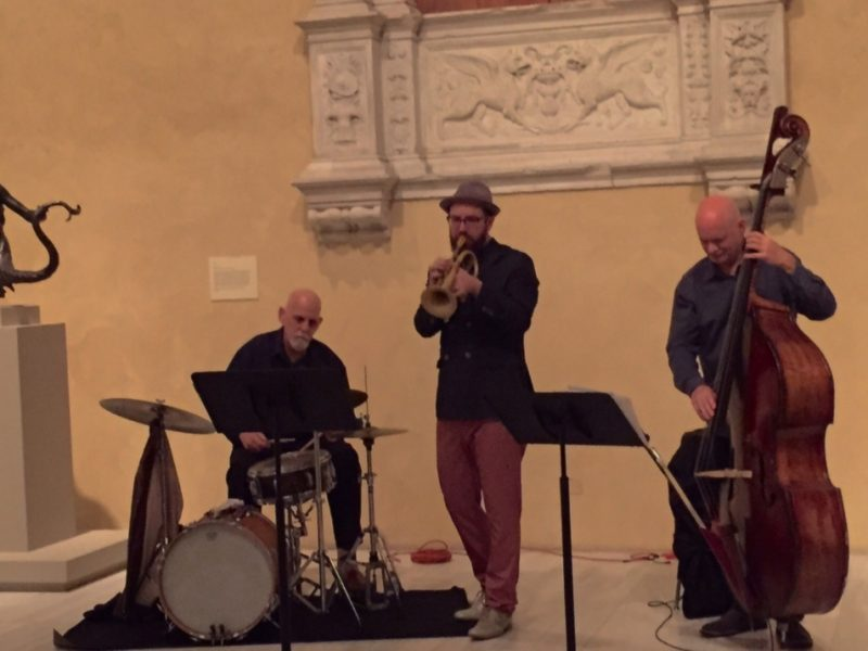 Kirk Knuffke Trio, Jazz & Colors, Metropolitan Museum of Art, NYC 4-24-15