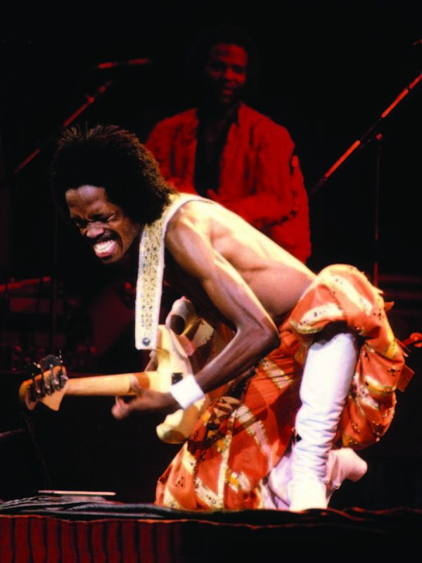 Verdine White of Earth, Wind and Fire in the '70s