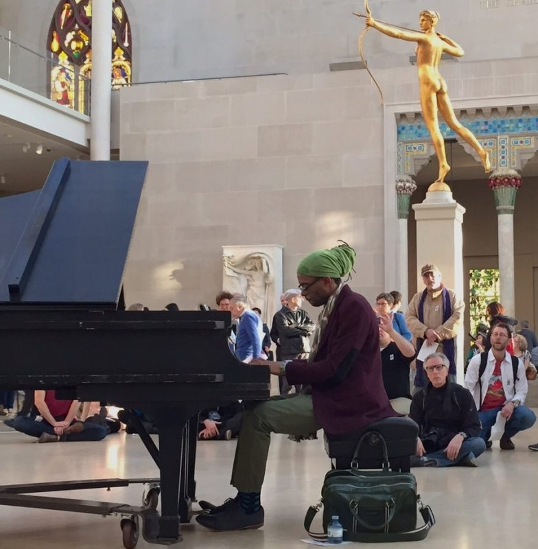 Marc Cary, Jazz & Colors, Metropolitan Museum of Art, NYC, 4-24-15