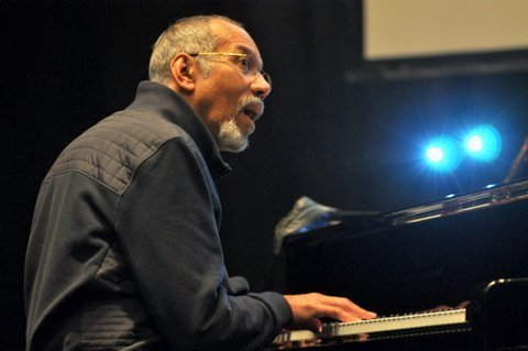 Stanley Cowell in performance saluting Strata-East at the Barbican Centre in London