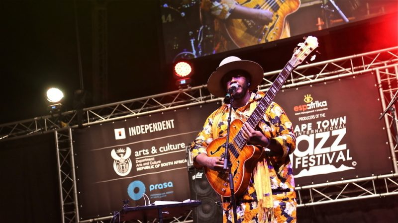 Thundercat at the 2015 Cape Town International Jazz Festival