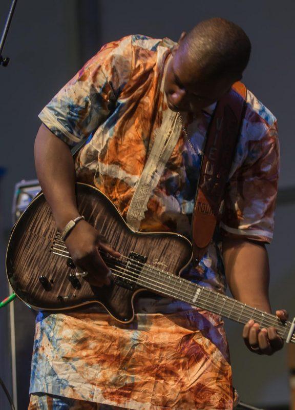 Vieux Farka Toure, New Orleans Jazz & Heritage Festival, April 2015