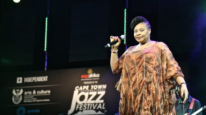 Yvonne Chaka Chaka at the 2015 Cape Town International Jazz Festival