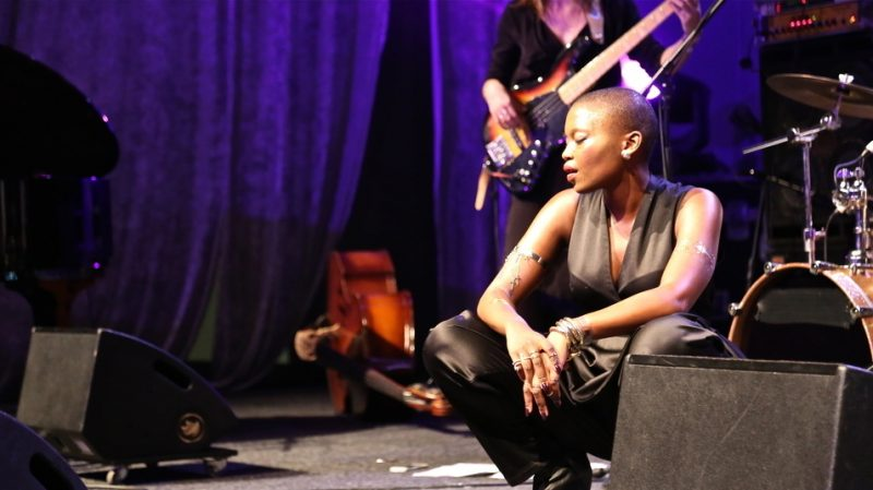 Zoë Modiga at the 2015 Cape Town International Jazz Festival