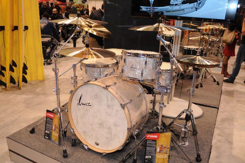 "Sonor ""Vintage"" series drum kit, NAMM Show 2015"