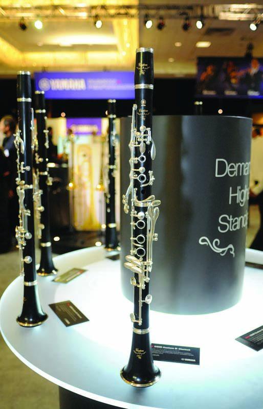 Yamaha's YL-CSVR Custom clarinets, NAMM Show 2015
