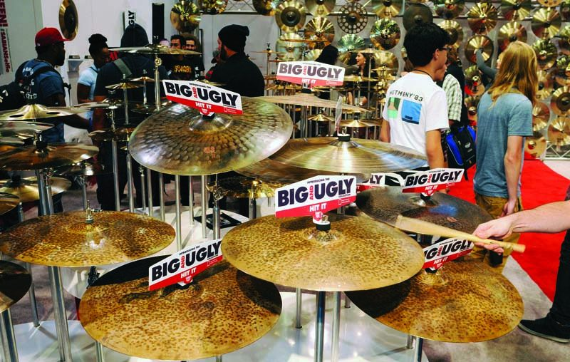 Sabian's Big & Ugly cymbal collection, NAMM Show 2015