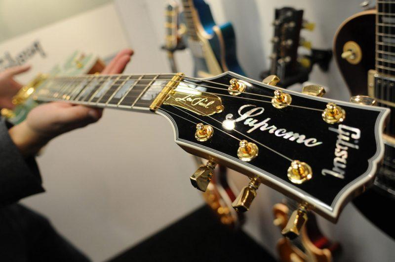 Gibson Les Paul Supreme 2015, NAMM show 2015