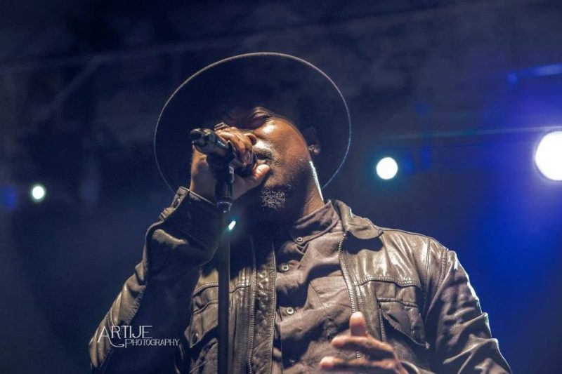 Anthony Hamilton, Art of Cool Fest, Durham, NC 4-15
