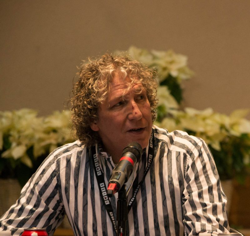 Producer/musician/arranger Bob Belden, Jazz Connect Conference, NYC Jan. 2015