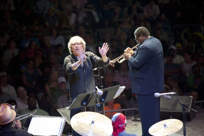 Bob Belden and Wallace Roney, Detroit Jazz Festival 2014