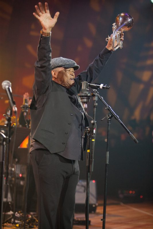 Hugh Masekela, International Jazz Day, Paris, April 30, 2015