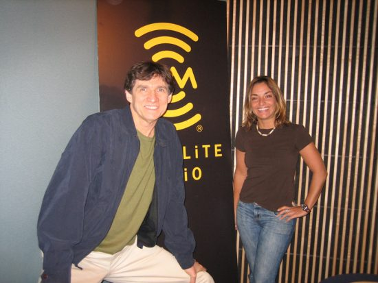 Russ Davis and Michelle Sammartino of MOJA Radio image 0