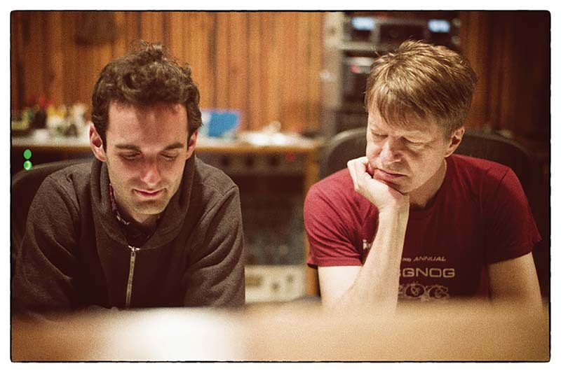 Julian Lage and Nels Cline, photographed by Sean Lennon