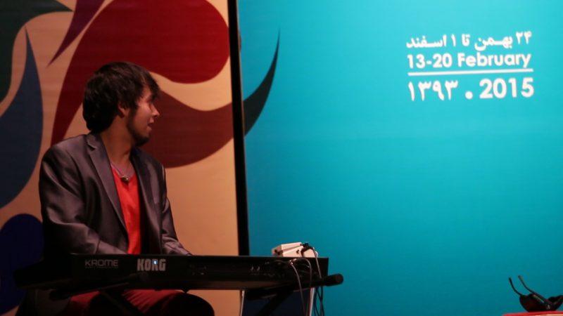 Roberto Verastegui, Vahdat Hall, Tehran, Iran 2015