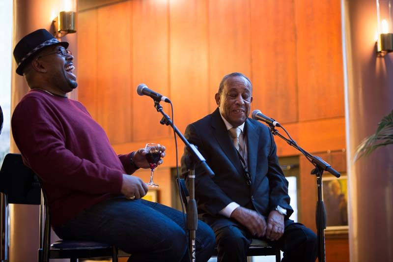Christian McBride interviews Lou Donaldson, ArtBar, Portland, Oregon, Feb. 2015