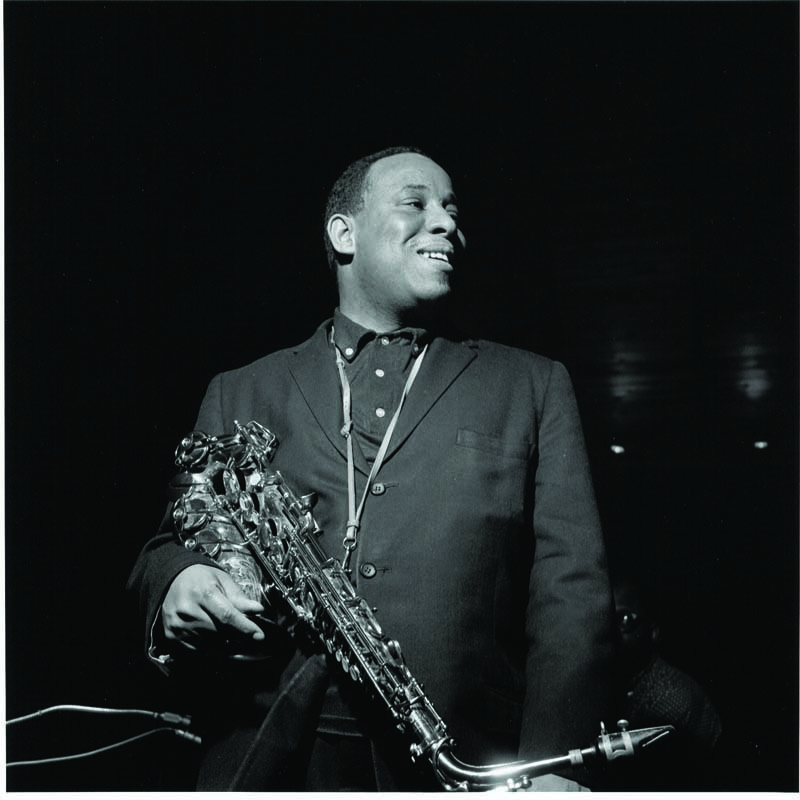 """Lou Donaldson at his """"Sunny Side Up"""" session for Blue Note, 2-28-60"""