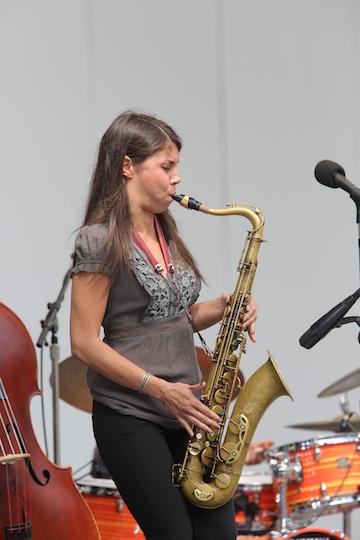 Melissa Aldana, Playboy Jazz Festival, 2015