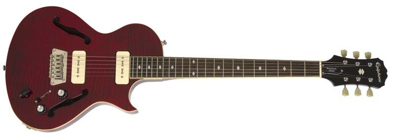 Epiphone Blueshawk Deluxe archtop guitar