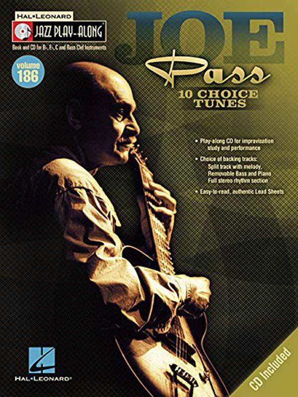 Joe Pass Jazz Play-Along book from Hal Leonard