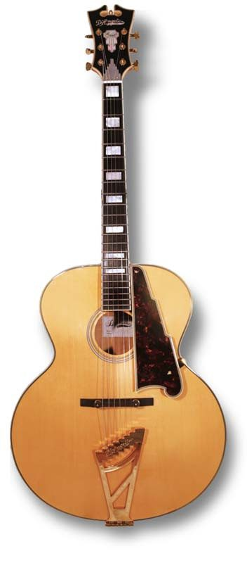 D'Angelico EX-63 acoustic guitar