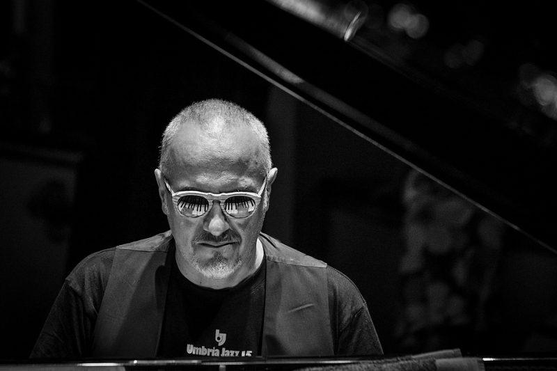 Danilo Rea, sound check, Umbria Jazz Festival 2015